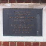 John F Kennedy in Newington Green Road