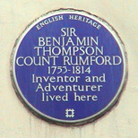 Sir B Thompson Count Rumford