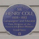 Sir Henry Cole - SW7