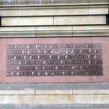 V&A façade foundation stone, Victoria