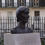 Virginia Woolf bust