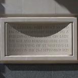 General Post Office plaque