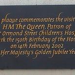 Great Ormond Street Hosp. - 150 Anniversary