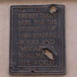 Smiths - war-damaged plaque