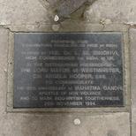 Gandhi and Indo-British togetherness trees