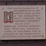 Suffragettes - WC2
