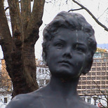 Statue of young boy