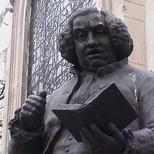 Johnson statue