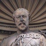 Temple Bar memorial - Edward VII