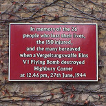 Highbury Corner bomb