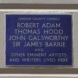 Adam, Hood, Galsworthy, Barrie, etc.