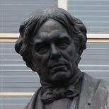Michael Faraday statue