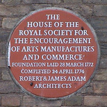 House of Royal Soc. for Encouragement of Arts etc
