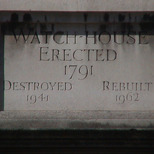 Watch-house in Giltspur Street