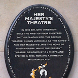 Her Majesty's Theatre - SWET