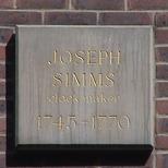 Joseph Simms at St John's