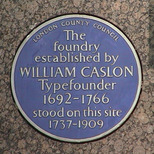 William Caslon