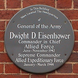 Eisenhower plaque