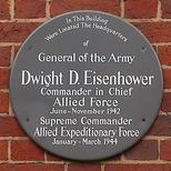 Eisenhower plaque
