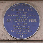 Sir Robert Peel x 2