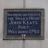 John Keats birthplace