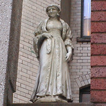 Imperial Hotel - statue 21
