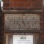 Christchurch - Greyfriars Church