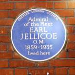 Lord Jellicoe plaque