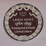 Leigh Hunt - SW3