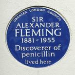 Sir Alexander Fleming - SW3
