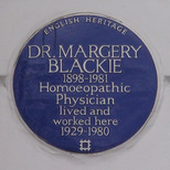Dr Margery Blackie