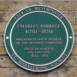 Charles Babbage - W1