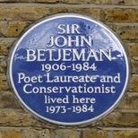 John Betjeman - SW3