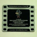 First cinema in Britain