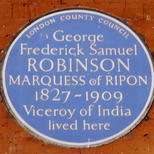George Robinson, 1st  Marquess of Ripon
