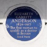 Elizabeth Garrett Anderson - W1