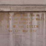 Moorfields Eye Hospital - foundation stone