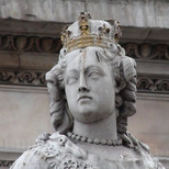 Queen Anne statue, St Paul's