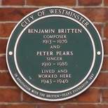 Benjamin Britten - NW8