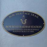 Bow Road Railway Station