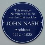 John Nash terrace - WC1 - not EH