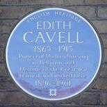Edith Cavell at Royal London Hospital