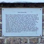 Hanbury Hall - white plaque - removed