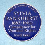 Sylvia Pankhurst - SW10