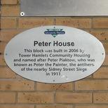 Peter Piaktow and Sidney Street Siege