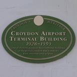 Croydon airport terminal building