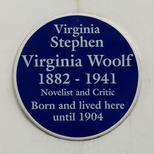 Virginia Woolf - SW7