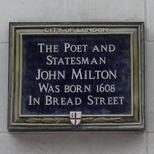 Milton in Bread Street