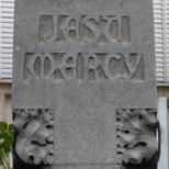 St Michael's church WW1 cross