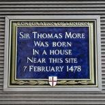 Sir Thomas More - birth